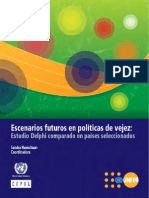Escenarios Futuros en Politica de Vejez