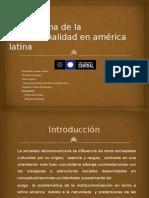 El Problema de La Institucionalidad en América Latina