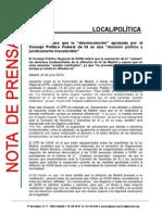 Nota de IU-CM tras la reunión de su Consejo Político Regional (PDF)