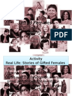 gifted females ppt