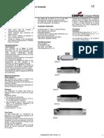 Accesorios Para Instalaciones Eléctricas Sección F