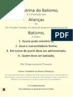 EMERSON EDUARDO RODRIGUES A Doutrina Do Batismo, e a Distinção Das Aliancas - Thomas Patient