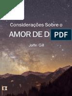Considerações Sobre O Amor de Deus - John Gill