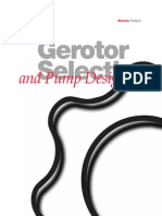 Gerotor Selection Pump Design