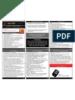 Manual Do Alarme de Moto Titanium Eclipse