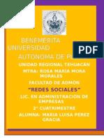 """ensayo """"Redes Sociales"""""""