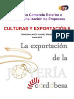 La Exportación de La Joyería Cordobesa