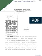 Bell v. Bennett et al - Document No. 3