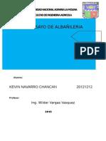 Ensayo de Albañilerialbañileriaa