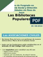 Clase 15 - Bibliotecas Populares