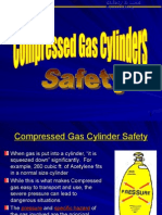 Compress Gas and Cylinder Safety Handling