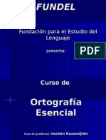 FUNDEL(Lenguaje y Comunicacion)