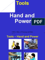 Hand and Power Tools OSHA