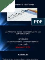 Apresentação - Aula Homilética - Fátima