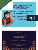 Conferencia Critica Al Paradigma de Desarrollo