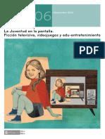 La Juventud en La Pantalla Ficcin Televisiva Videojuegos y Edu-Entretenimiento