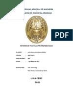 Informe de Practicas Pre-Prodfesionales