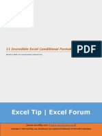 11 Incredible Excel Conditional Formatting Tricks