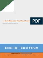 11 Incredible Excel Conditional Formatting Tricks