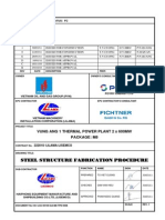 VA1 LSC 00100 QA M8 TPD 0006 (Steel Structure Fabrication Procedure) Rev.1