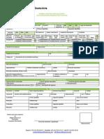Formulario Original Asonal Financiera