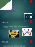 riesgos y factores de riesgo