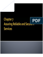 Bab 7 (Assuring Reliable and Secure IT Services)