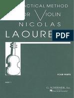 Método para Violín de Laoureux