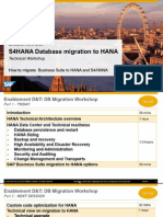 HANA Migration