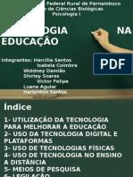 Tecnologia Na Educação - Psicologia