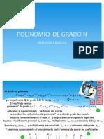 Polinomio de Grado