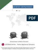 LG Electronics Compressor Catalog M L