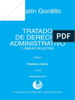 GORDILLO, Agustín. Tratado de Derecho Administrativo, t. v (2)