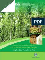 Incentivos Desincentivos Forestales Panamá VF