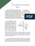 El Disco Ecuatorial de Jean de La Foye