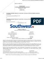 Southwest Financials