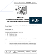 OMHEC Guidance on Communications