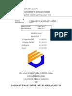 Laporan Praktikum Instrumen Analitik