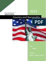 Country and Nacionality