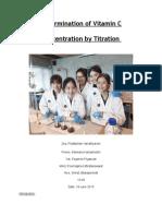 titrationlabreport