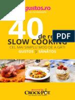 Carte de Bucate Slow Cooker