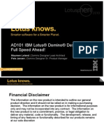 139022165 IBM Lotus Domino Designer Full Speed Ahead