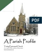 Parish Profile –Trinity Episcopal Church in Lawrence, Kansas