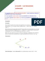 1re S Bernoulli Et Loi Binomiale