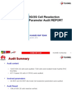 3g2g Cell Reselection Parameter Audit (Nxpowerlite)
