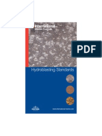 IP Standards of acceptance in Hydroblasting