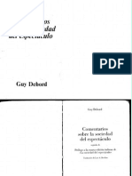 Comentarios Guy Debord