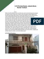 Dijual Rumah Di Permata Buana, Jakarta Barat, Rumah Tumbuh