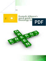 Ecotech Alliance - Quick Guide to Bioenergy Technologies