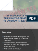 Human Health Case - Introduction of the Chikungunya Disease in the Caribbean in 2013-14